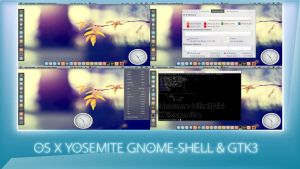 Yosemite-gnome-shell-FINAL-version by pamfeuer
