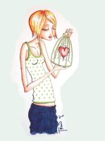 heart in a cage by triin