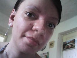 Me without make up 1. by MrsCromwell