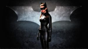 Anne Hathaway Catwoman II by Dave-Daring