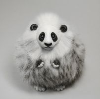 Panda Furry Creature by RamalamaCreatures