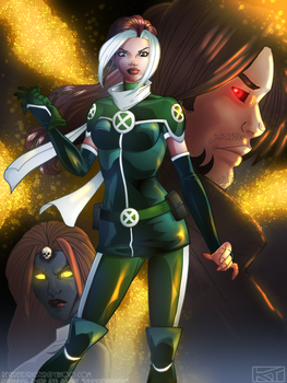 Rogue's new look - Coloured by ReverendTrigster