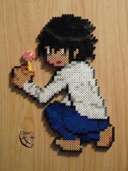 L Death Note Trainer Perler by Cimenord