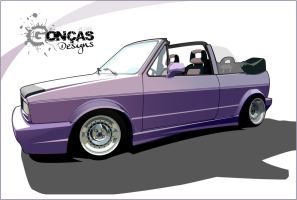 Golf mk1 cabrio by carguy88