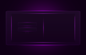 Purple Login Interface by Kinetic9074