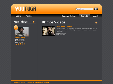 Youtuga Design - Home by d3x7r0