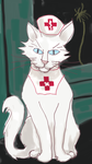 Nurse Catte in her Uniforme by deutschebahn