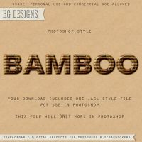PS Style: BAMBOO by HGGraphicDesigns