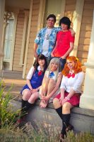 AnoHana Cosplay Group by JailBreakDesigns