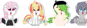 Foal Adoptables -CLOSED- by JenyTheAlicorn