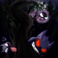 Title about ghosts and shadow balls by Darkm00nShine