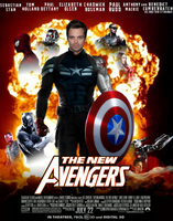 The New Avengers movie poster  by ArkhamNatic