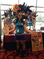 Ichibancon Artist Alley Table 2014 And Me by PakajunaTufty