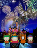 South Park Goes to Disneyland by AquaMarie1995