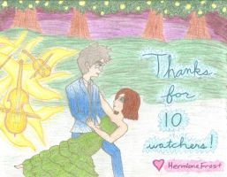 Thank You for 10 Watchers! by HermioneFrost