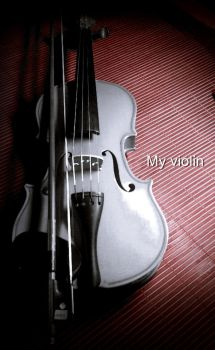 My violin by CaoLeader
