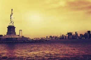 New York City - Statue of Liberty by tsxworld