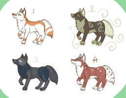 Adopt Fox Cute creatures... OPEN! 20 points by VulpineMystery