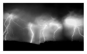 Lightning BW by zoidbergmerc