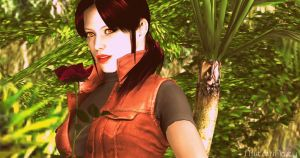 Claire Redfield. by MistressNasty