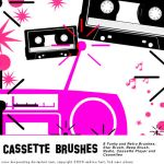 Retro Cassette Brushes by KeepWaiting