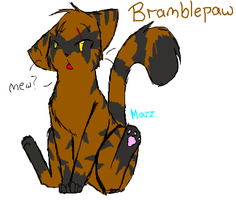 Bramblepaw by xBadgerclaw