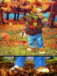 Lion in autumn by t-bone-0