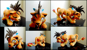 Cute Red XIII by xBrittneyJane
