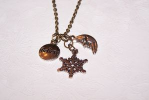 ROTG Jack Frost Inspired Necklace by setosora77