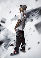 Chris Brown illustration by InfeK7