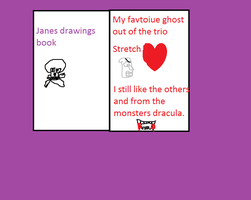 Janes drawing book Janes scerect by horrorgirlxD