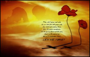 Lest We Forget by Sara1970