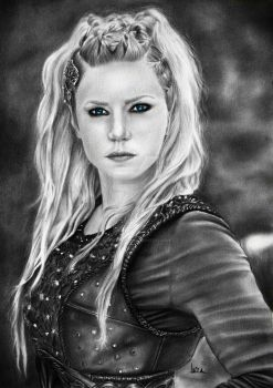 Lagertha (commission) by leiaolliver