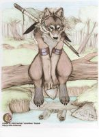Wolf by chained2stone