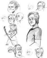Expressionsketches by Crispy-Gypsy
