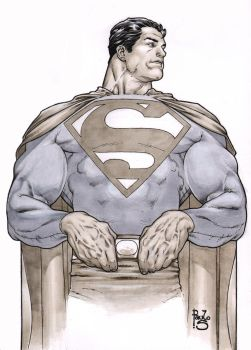 Superman  markers by PauloSiqueira