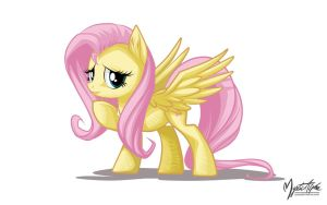 Fluttershy Pose by mysticalpha