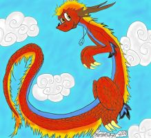 China Dragon-COLORED by peacelovespyro