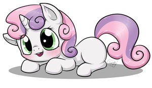 Gift: Sweetie Belle by Diigii-Doll