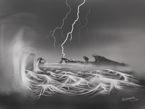 Landscape of torments by Guitaropathe