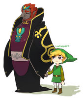 Hey,Ganondorf! by Leaf-subway