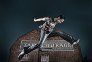 Take courage by kamalphotography