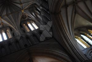Lincoln Cathedral tower by MaePhotography2010
