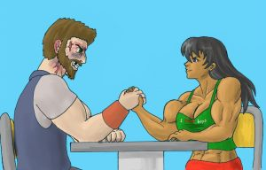Arm Wrestling 2 by tj-caris