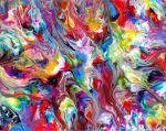 Fluid Painting 99 by Mark-Chadwick
