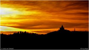 San Luca in Sunset by Marcello-Paoli
