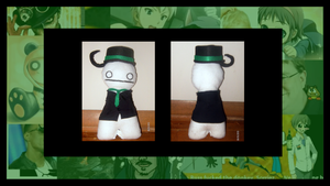 Cryaotic Sup Guy Plushie: Suit and Cry by Himikai-chan