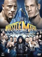 WWE Wrestlemania 29 DVD Cover by TheRatedRViper1