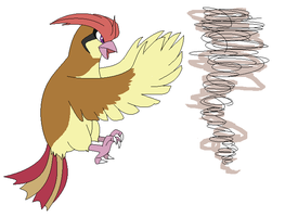 Pidgeotto used Whirl Wind by Kainaa