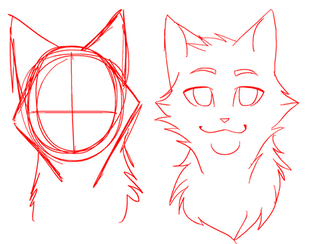 Headshot Lineart -MS PAINT FRIENDLY by RiverSpirit456